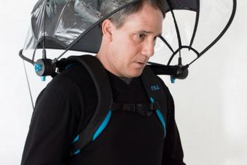 Nubrella Hands-free Wearable Umbrella
