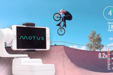 MOTUS Smart Robot Cameraman for Your Phone with Wearable Tracker