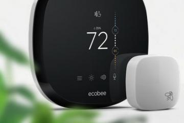 ecobee4 Smart Thermostat with Alexa, Apple Watch Support