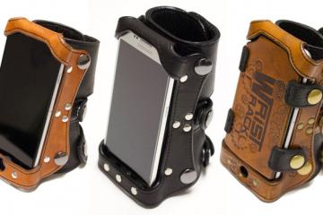 Wrist Rack: Wearable Smartphone Holder