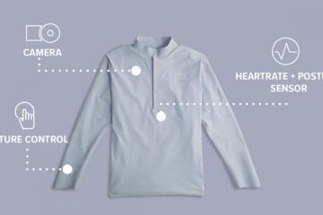 10ELEVEN9 Smart Shirt with Camera, Sensors
