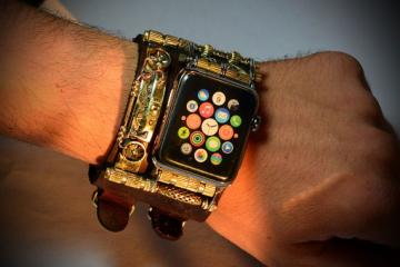 Steampunk Band for Apple Watch