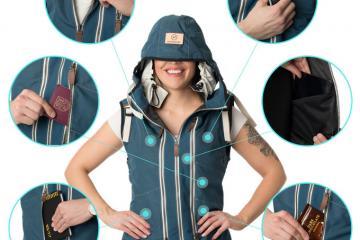 Neckpacker Versatile Travel Jacket