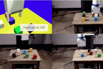 OpenAI's Robots Learn From Humans In VR