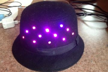 CheerLights: Internet Connected Hat