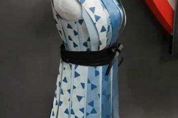 E-ink Dress with Customizable Patterns