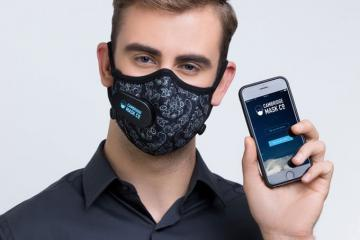 Smart Cambridge Mask with Bluetooth