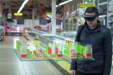 Mixed Reality HoloLens for Shelf Management In Stores