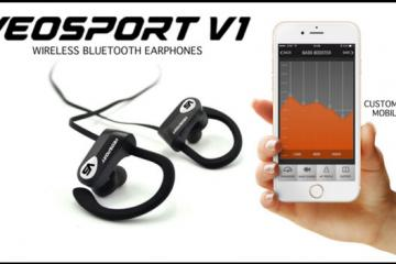 VEOSPORT V1: Bluetooth Sports Earphones