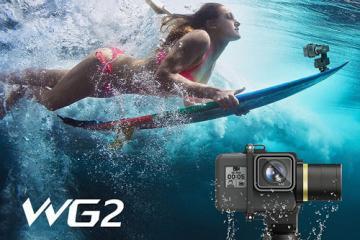 FeiyuTech WG2: Waterproof Wearable Gimbal for Action Cameras
