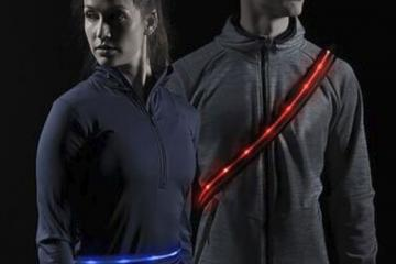 LumaGlo Crossbelt: Wearable LED Sash & Belt