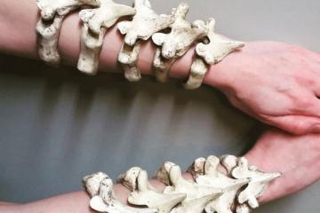 Vertibraecelets: Stackable Vertebrae Bracelets