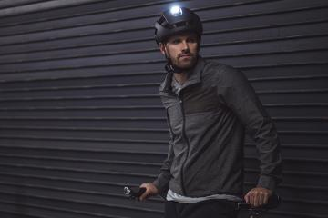 Torch M1: 500-Lumen Bike Helmet