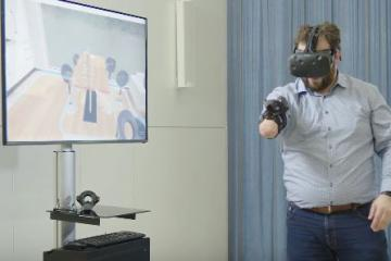 VITA – Virtual Therapy Arm System for Amputees
