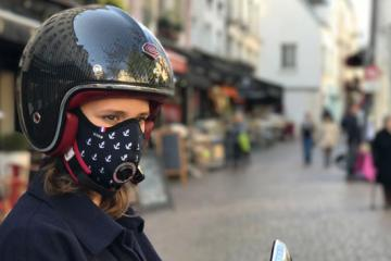 R-PUR: Anti-pollution Mask for Motorcycle Riders