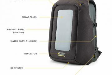 NUMI: Smart Backpack with Solar Panel