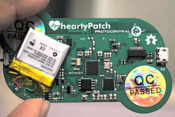 HeartyPatch Connected ECG Patch