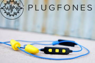 LIBERATE 2.0 Plugfones: Earplug + Earbuds