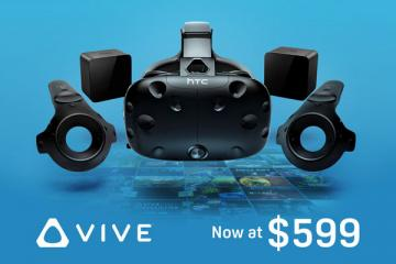HTC Vive Price Reduced By $200