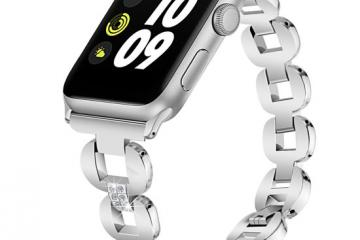 TreasureMax Stainless Steel Apple Watch Band