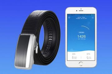 INIE Belt: Smart Belt That Monitors Your Health