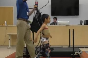 Lower-extremity Exoskeleton for Children with Cerebral Palsy