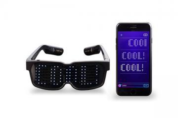 CHEMION Bluetooth LED Glasses