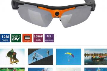 Powpro Caspy 1080p Sunglasses Camera