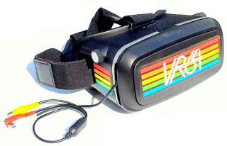 VR64: VR Goggles for Commodore 64