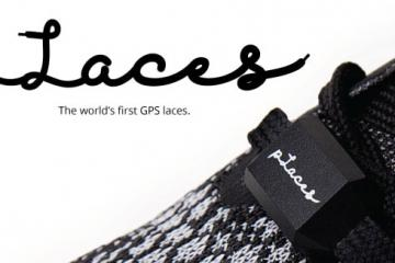 pLaces GPS Laces for Fitness Tracking