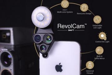 RevolCam Muli-Lens Add-on for Smartphones