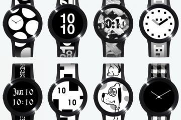 FES Watch U Electronic Paper Watch