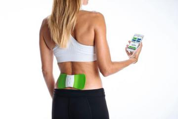 WiTouch Pro: Wearable Bluetooth TENS Back Therapy