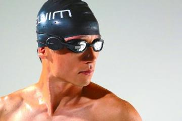 Zwim: Google Glass Type Device for Swimmers