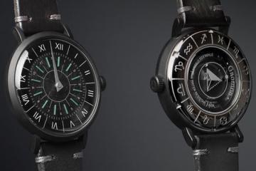 Gnomon Watch with Roman Sundials