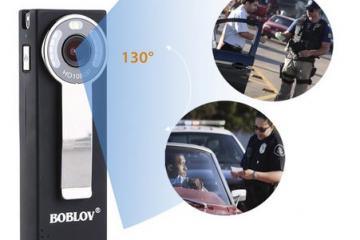 BOBLOV HD95 Body Worn Camera