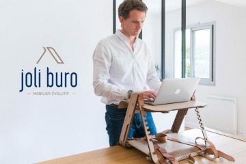 Joli Buro: Portable Standing Desk