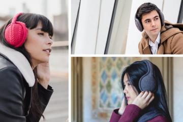 Sound Huggle Bluetooth Headphone Earmuffs