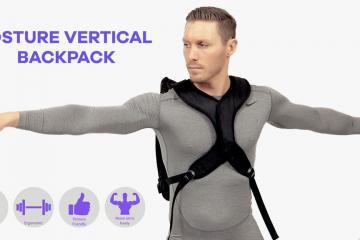 Posture Vertical Backpack Improves Your Posture