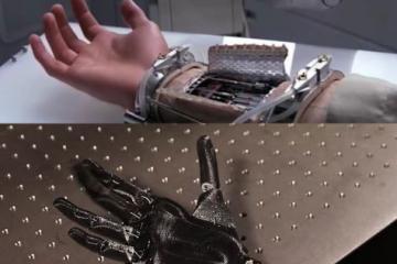 Georgia Tech's Luke Skywalker Hand with Ultrasound
