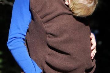 Peekaru Original: Fleece Baby Carrier Cover