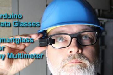 DIY Arduino Data Glasses