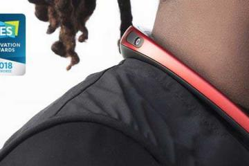 FITT360: 360-Degree Neckband Wearable Camera
