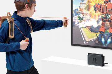 Nintendo Labo: Interactive Cardboard Kits for Nintendo Switch
