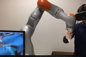 Robotic Virtual Surgery with KUKA Bots