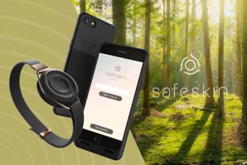 Safeskin Wearable iPhone Anti-theft System