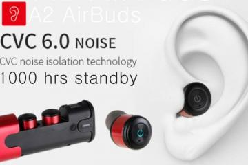 A2 AirBuds with Noise Cancellation
