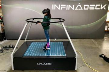 Infinadeck Omni VR Treadmill