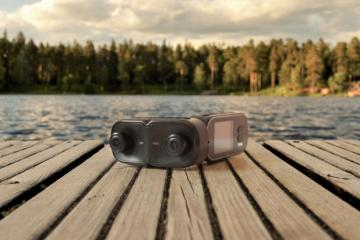 Cap 4K 3D Camera For VR
