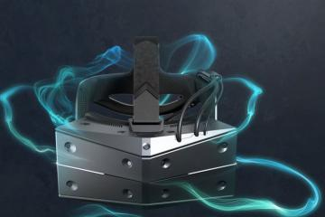 StarVR One Virtual Reality Headset with Eye Tracking